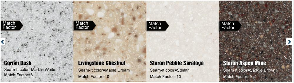 Solid Surface Glue Color Matches The Match Factor