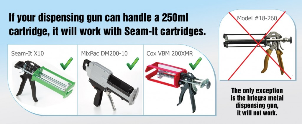 Correct Dispensers For Seam It Adhesives