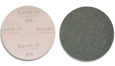 5 Inch    80 Grit PSA Sticky Back