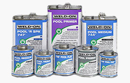 Pool and Spa Solvent Cements
