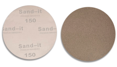 5 Inch    150 Grit PSA Sticky Back